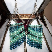 Waterfall Bohemian Long Earrings