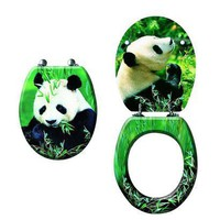 Trimmer Panda Forest Toilet Seat Cover