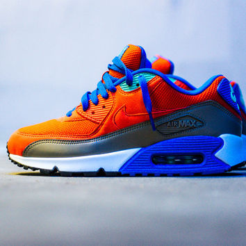 Nike Air Max '90 Essential - Team Orange/Cobalt/Brown - Sneaker Politics