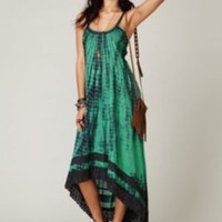 FP-1 FP ONE Tie Dye Sunburst Maxi Dress at Free People Clothing Boutique