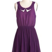 Grape Minds Think Alike Dress | Mod Retro Vintage Dresses | ModCloth.com