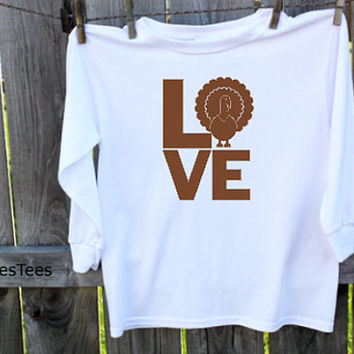 Love Turkey Thanksgiving shirt,