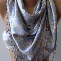 Lilac -  Elegance Shawl / Scarf-