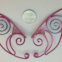❤ piNk & bLuE eLf eaRs ❤ eLf ❤ FaEry cHiC ❤ LaRp ❤ hANdcRafTEd 4 FaiRiEs ❤
