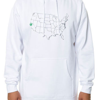 The 4/20 Capital of America Hoodie in White