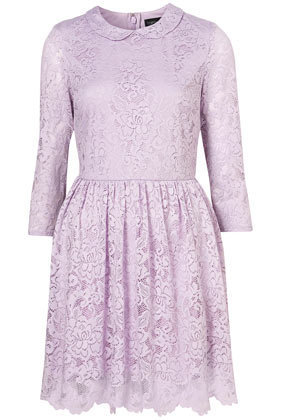 Lace Peter Pan Dress - Sale  - Sale & Offers