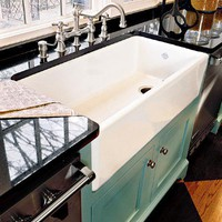 Inspired Houses / big farm sink