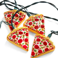 Glowing Out for Pizza String Lights | Mod Retro Vintage Electronics | ModCloth.com