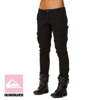 Quiksilver Womens The Base Cargo Pants - Still Night