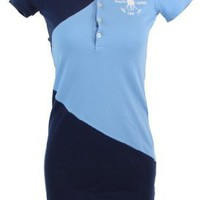 Ralph Lauren Sport Womens Big Pony Polo Shirt Dress