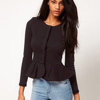 ASOS Peplum Jacket at asos.com