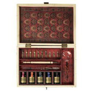 Trianon Travel Complete Calligraphy Set From