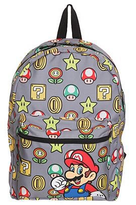 Nintendo Super Mario Bros. Mushroom Reversible Backpack - 155590