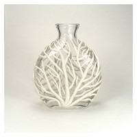 VASE - White Clay Sea Fan Vase - Tidal
