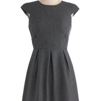 Grey-t Success Dress | Mod Retro Vintage Dresses | ModCloth.com