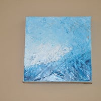 "Acrylic Painting on Canvas - ""Blues"" - Original Painting By dlynnart"