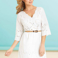 Kenzie Eyelet Dress