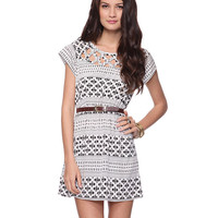 Crisscross Cutout Dress