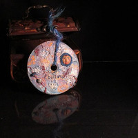 Wall Art - Upcycled Cd - Believe