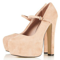 SHOWOFF Mega Platform Mary Janes - Heels  - Shoes