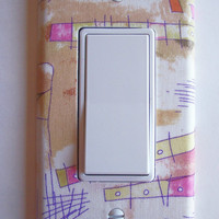 Watercolors Rocker / GFI Switchplate Switch Plate
