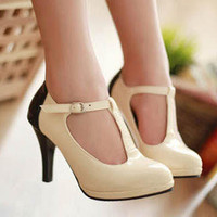 T-Strap Pumps