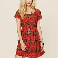 Free People Free People Printed House Dress