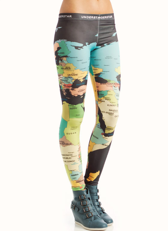 globe-leggings CHARCOAL - GoJane.com