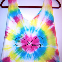 Forever Young Tie Dye Crop Top