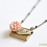 Secret Admirer Necklace - Available in 11 colors -