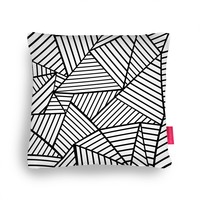 Quirky Illustrated Gifts | Abstraction Lines Zoom Cushion by Project M | Ohh Deer