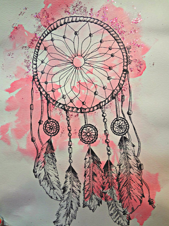 Dream Catcher Drawings Quotes Canvas. QuotesGram