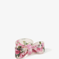 Floral Bow Ring