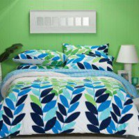 Multi Leaf Quilt Cover by Sleeping Beauty - Quilt &amp; Doona Covers - Bed Linen