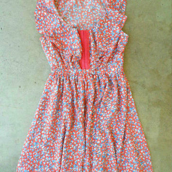 Ruffled Bluebell Dress [3025] - $34.00 : Vintage Inspired Clothing & Affordable Summer Dresses, deloom | Modern. Vintage. Crafted.