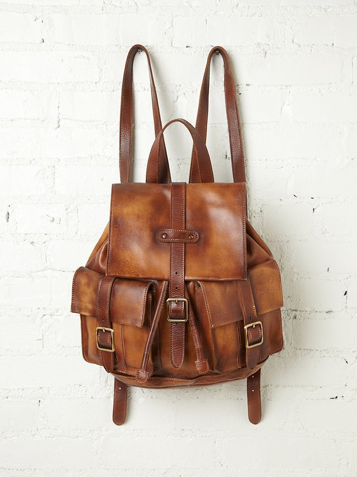 Free People Cairo Distressed Backpack
