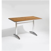 Sherwood Modern Rectangular Aluminum Base Dining Table, Rectangular Dining Table: Nyfurnitureoutlets.com