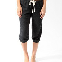 French Terry Drawstring PJ &lt;br&gt;Capris