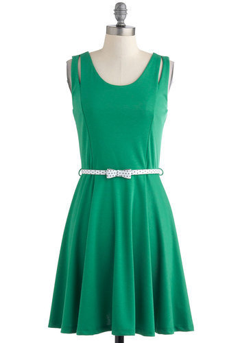 Putting Green Queen Dress | Mod Retro Vintage Dresses | ModCloth.com