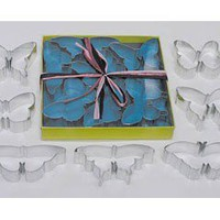 Butterflies COOKIE CUTTER set of 7 butterfly