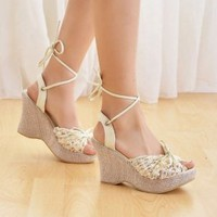 Crochet Lace Wedges