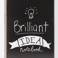 Brilliant Idea Notebook