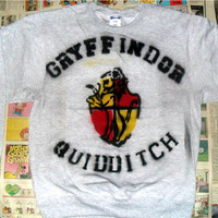 SALE Gryffindor Quidditch Crewneck Sweater (Sizes: S / M / L)
