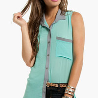Mix and Match Button Down Shirt