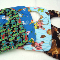 4 Baby Bibs - Your Choice