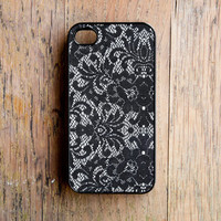 Lace Pattern iPhone 4 Case New iPhone 4 &amp; iPhone 4s Black Mother&#x27;s Day For Mom