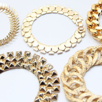 Chunky chain bracelet - 24k Gold Plated