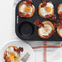 Bacon, Egg, and Toast Cups - Martha Stewart Recipes