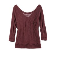 Aerie Cozy Raglan T | Aerie for American Eagle