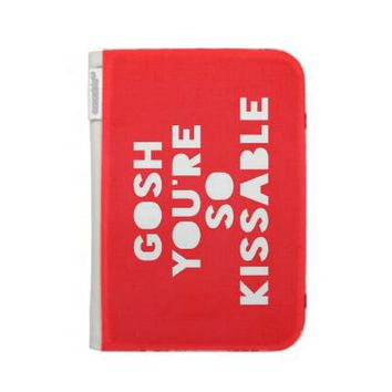 Kindle Case ... Gosh,Kissable from Zazzle.com